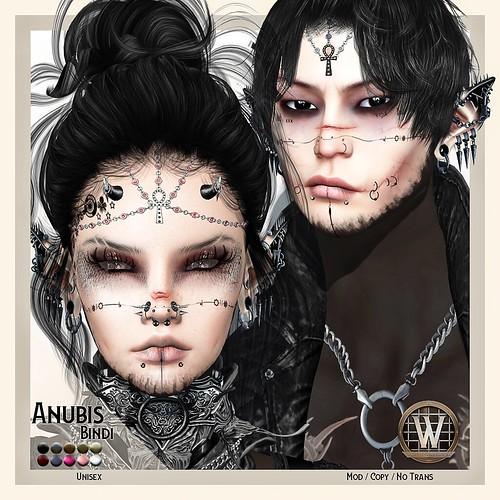 Wicca's Originals - Anubis Bindi Vendor