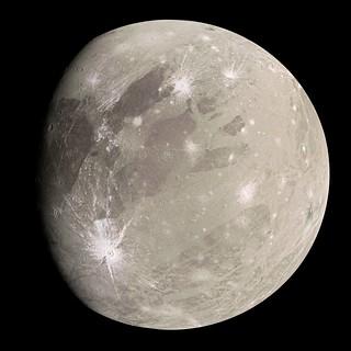 Ganymede - Perijove 34 Composite