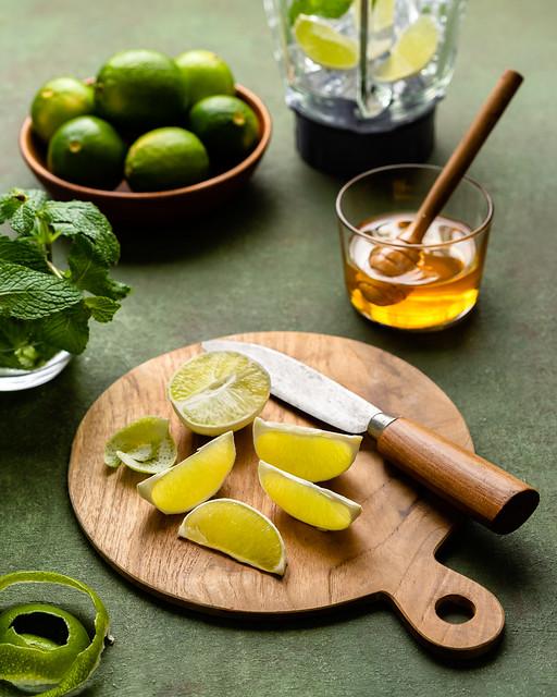 Lime Mint Juice 1