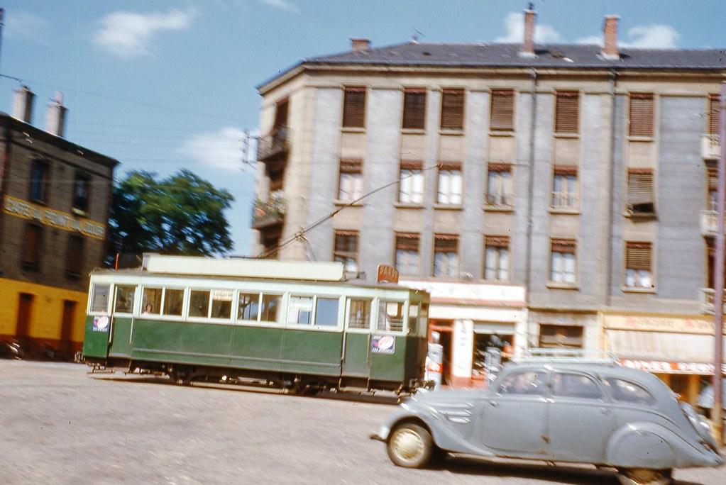 42 St Etienne Bellevue 1954