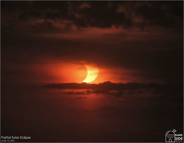 Partial Solar Eclipse - June 10, 2021