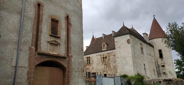 Beaujolais - Château de La Palud - Randonnée des 3 Châteaux