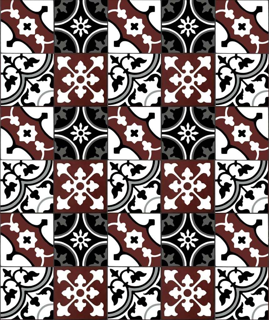 Repeating Four Tiles