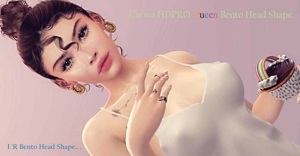new, Catwa HDPRO Queen Bento Head Shape –