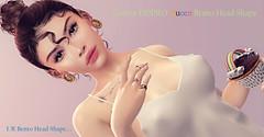new, Catwa HDPRO Queen Bento Head Shape -