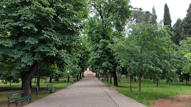 Park Petrovića, Podgorica