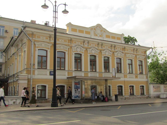 an old building