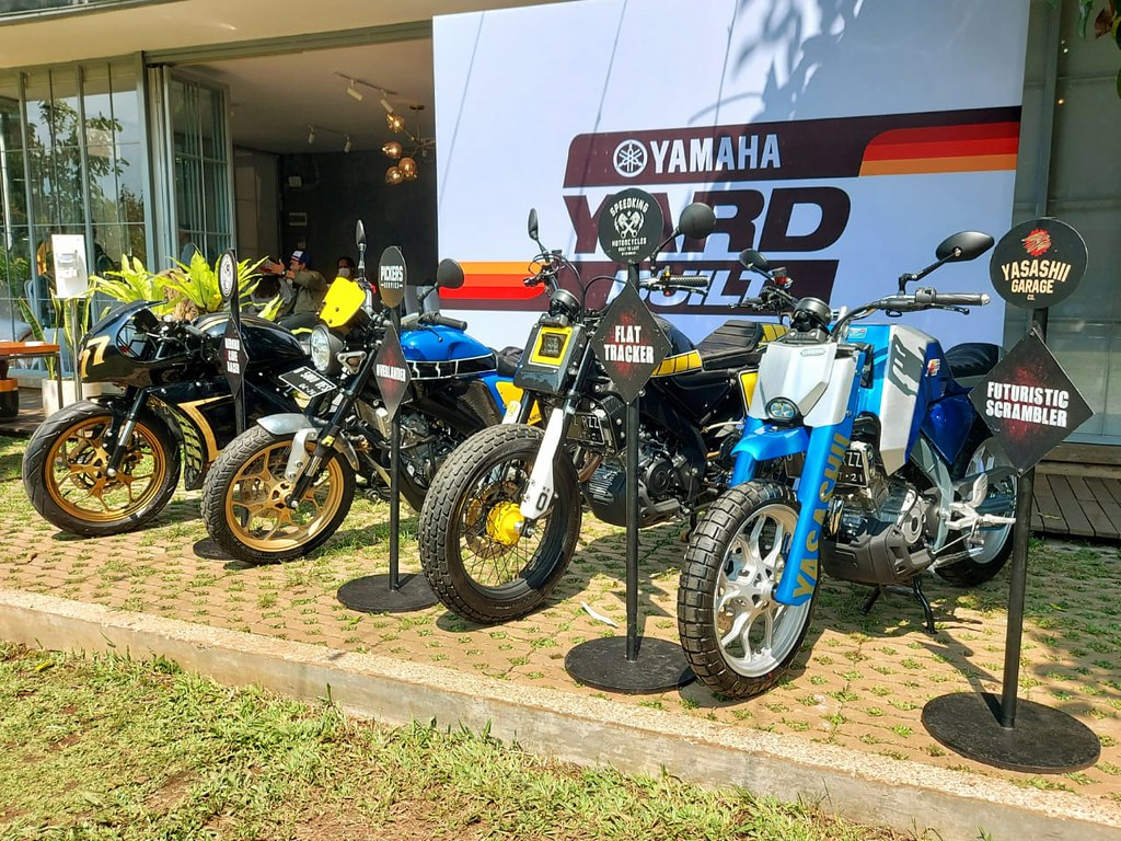 XSR 155 custom Yard Built Indonesia wilayah Bandung
