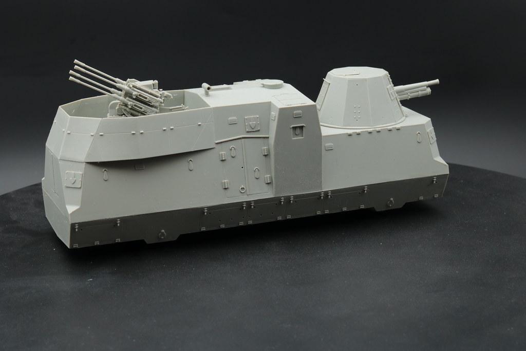wagon mixte artillerie / flak trumpeter 1/35