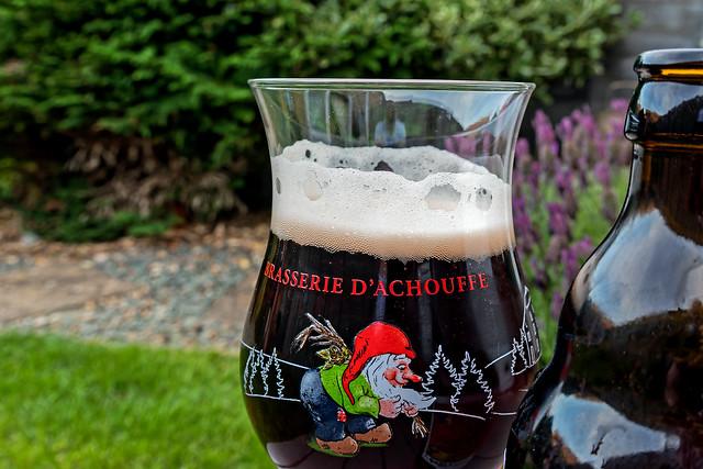 Belgium Fruit Beer (Cherry Chouffe) (Panasonic Lumix TZ200)