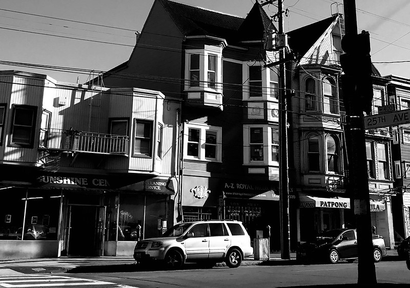 Clement Street in San Francisco...