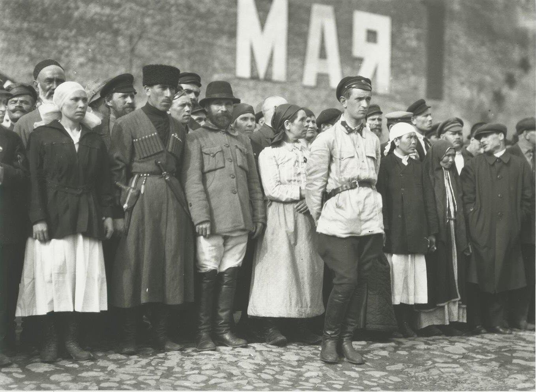 1925. Первомайская демонстрация на Красной площади. 1 мая