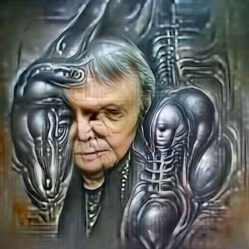 'H R Giger' Aleph2Image Dall-E Remake Text-to-Image