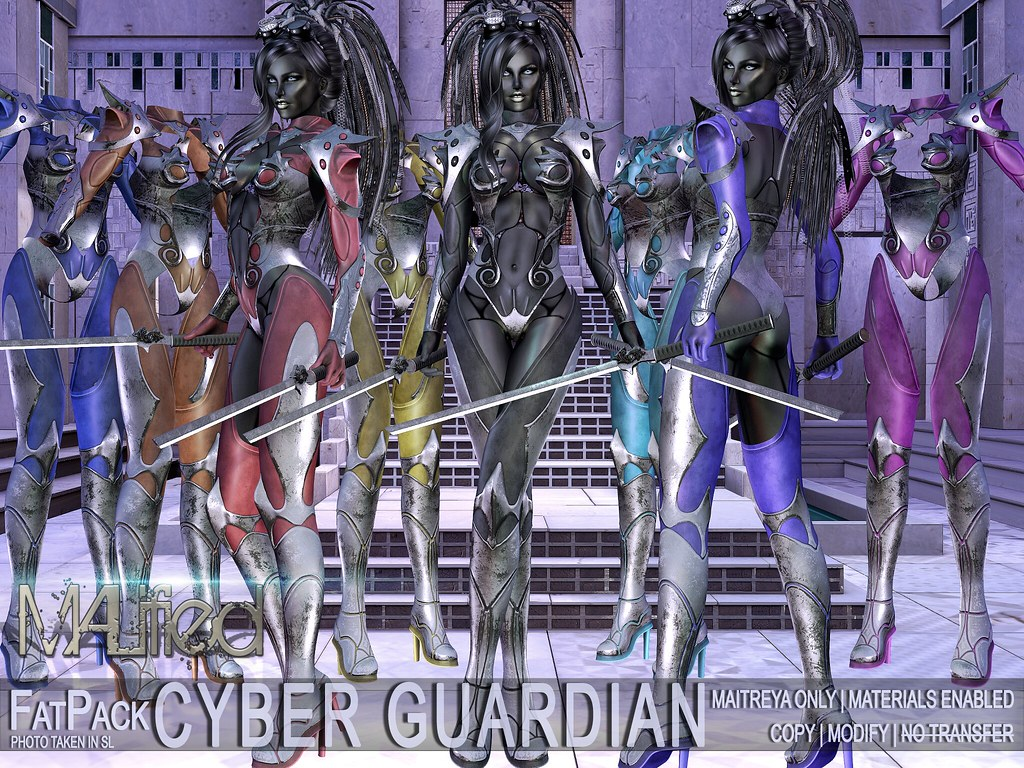 MALified - Cyber Guardian Outfits - FatPack