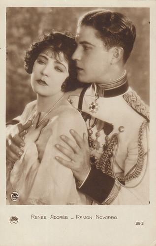 Renée Adorée and Ramon Novarro in Forbidden Hours (1928)