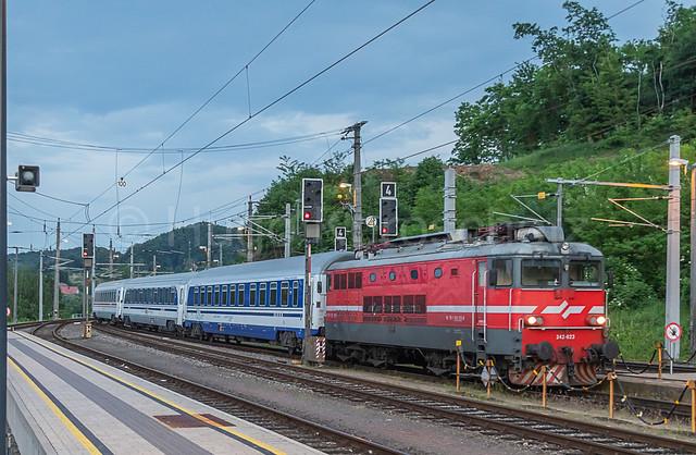 EN  1414  Zagreb - Zürich