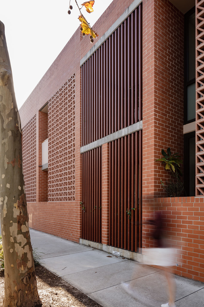 Teracota Apartments - Mitchell St Alexandria NSW - Breeze Blocks in Pottery (9)
