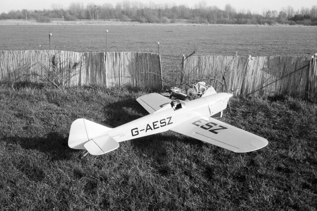 From the Model Flying Field: Semi-Scale Miles Sparrowhawk