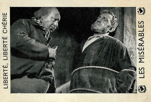 Harry Baur and Charles Vanel in Les Misérables (1934)