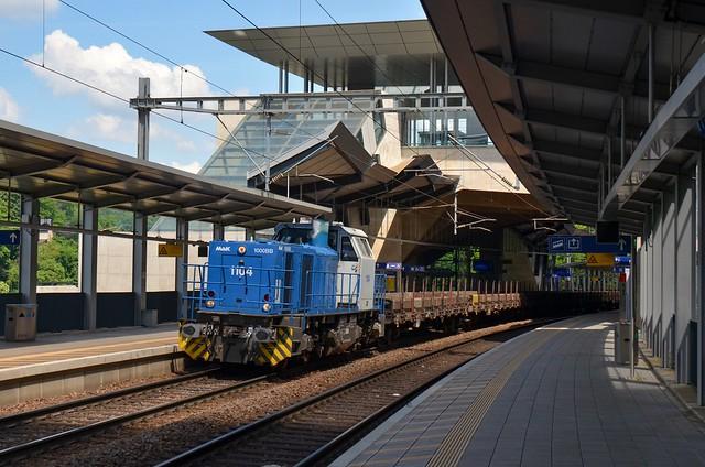 CFL cargo 1104 Pfaffenthal-Kirchberg (Bissen)