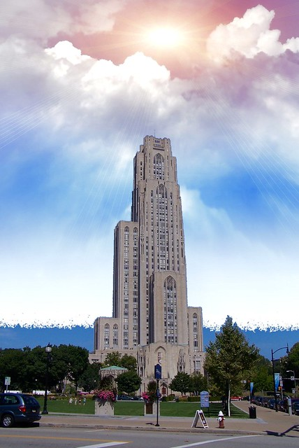 Pittsburgh Pennsylvania  ~ Cathedral of Learning ~ Historic Building