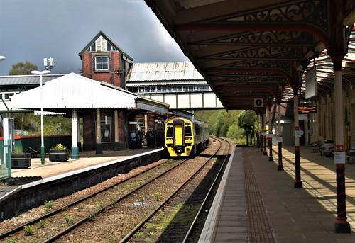 wrexham general railway station north wales exchange borderland line bidston wirral central