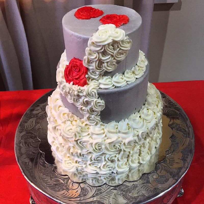 Cake by Sweet Cheeks Cakery