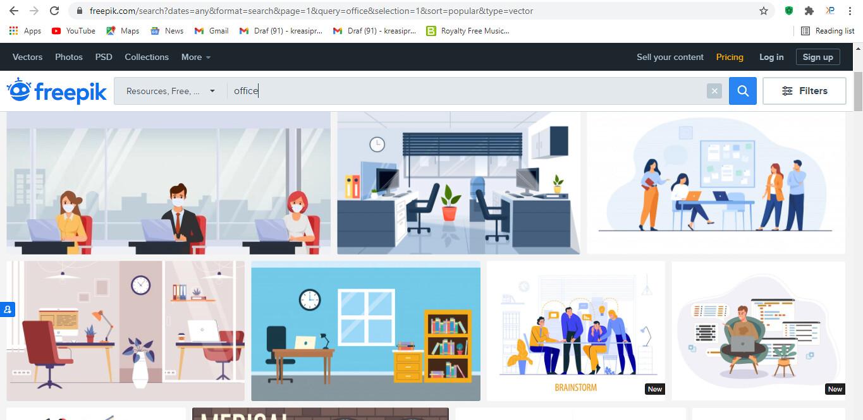 Website Download Vektor Gratis di Freepik