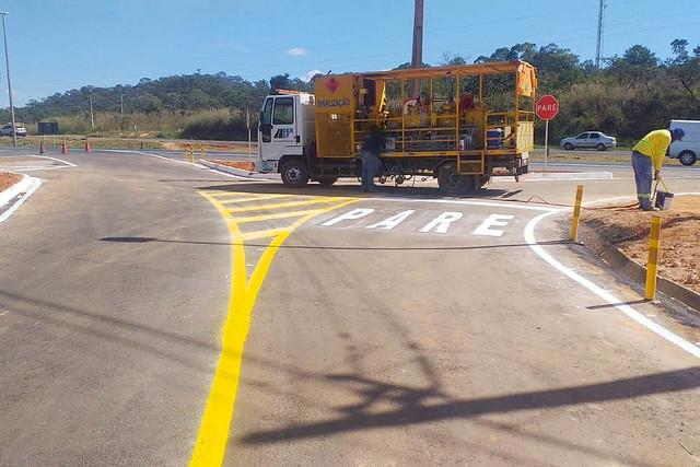 Concluída obra de pavimentação entre o DVO e a BR-020