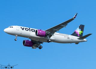 F-WWBY / XA-VRV Airbus A320-271N VOLARIS s/n 10454 - First flight * Toulouse Blagnac 2021 *