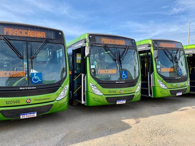 Transporte público do DF recebe 50 ônibus novos