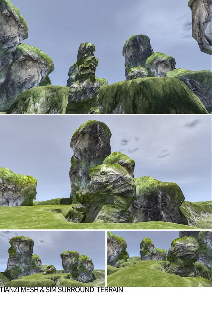 TIANZI – mesh & sim surround terrain rezzer