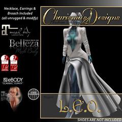 Charisma's Designs - L.E.O. in Silver