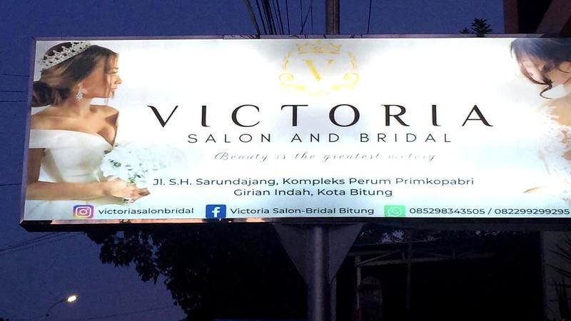 Victoria Salon and Bridal Bitung, Ikuti Pameran di Mega Mall Manado Tampilkan Desainer Internasional