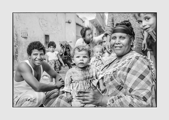 Children at play - Cairo Egypt  july 1981