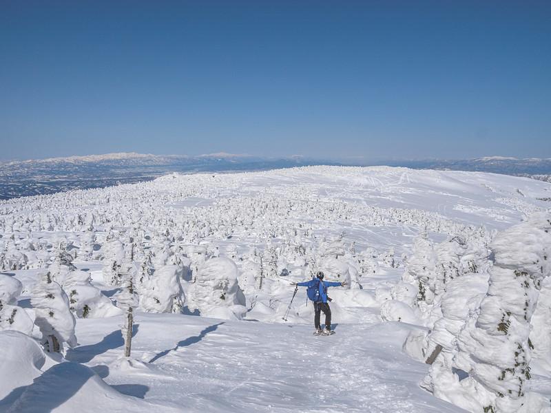 冬の西吾妻山
