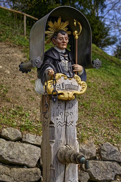 Der heilige St. Leonhard