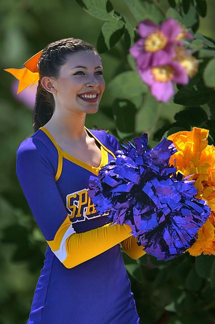 Spartan Cheerleader