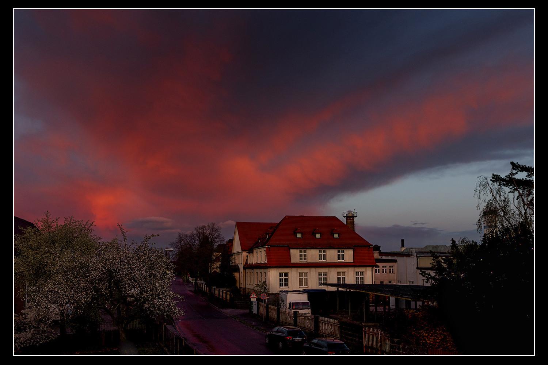 Frank Damme; Sonnenuntergang