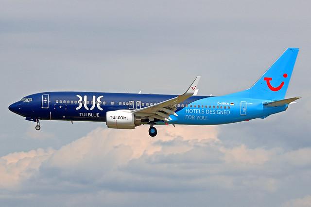 TUI Boeing 737-86J D-ABKM FRA 03-06-21
