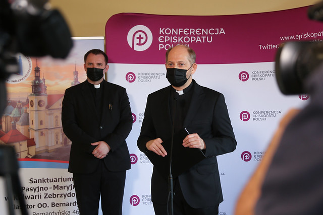 Konferencja Prasowa - 389. Zebranie Plenarne KEP - Kalwaria Zebrzydowską - 11 czerwca 2021 r.