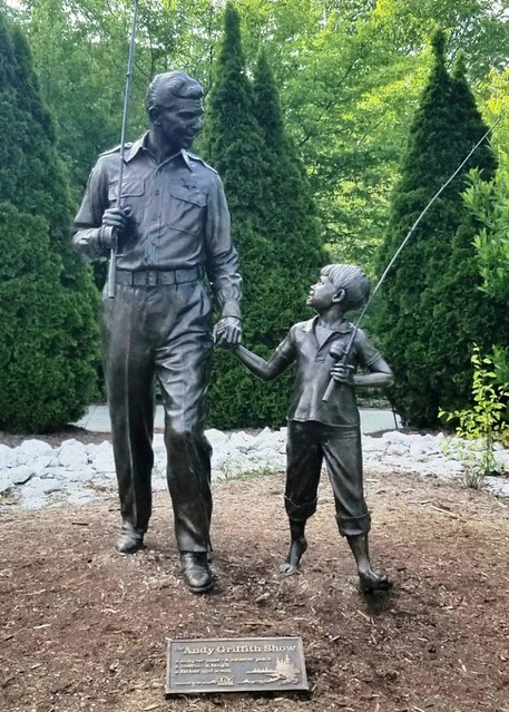 NV, Mt. Airy-Andy & Opie Statue