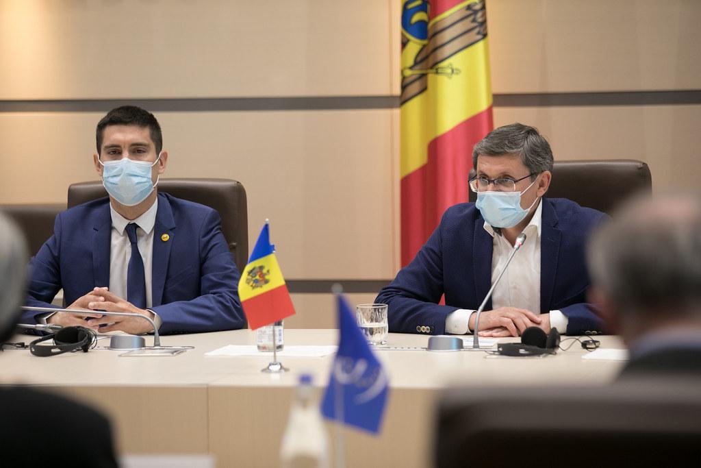 11.06.2021 Întrevederea președintelui Fracțiunii PAS, Blocul ACUM, Igor Grosu cu Misiunea preelectorală a APCE