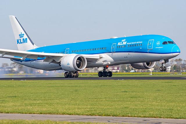 KLM / B789 / PH-BHF / EHAM 18R