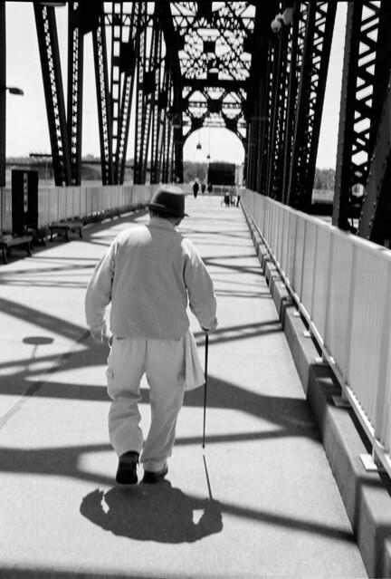 Old Man on the Bridge