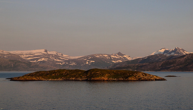 A nice summer evening in Northern Norway