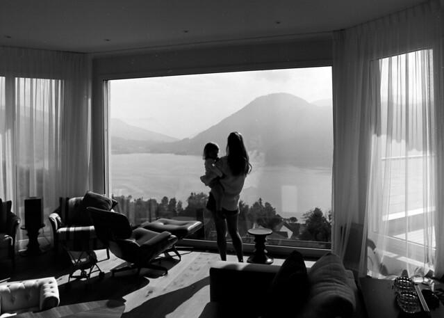 Room with a View - Ägeri  (In Explore - Contax 645 / MF Acros)