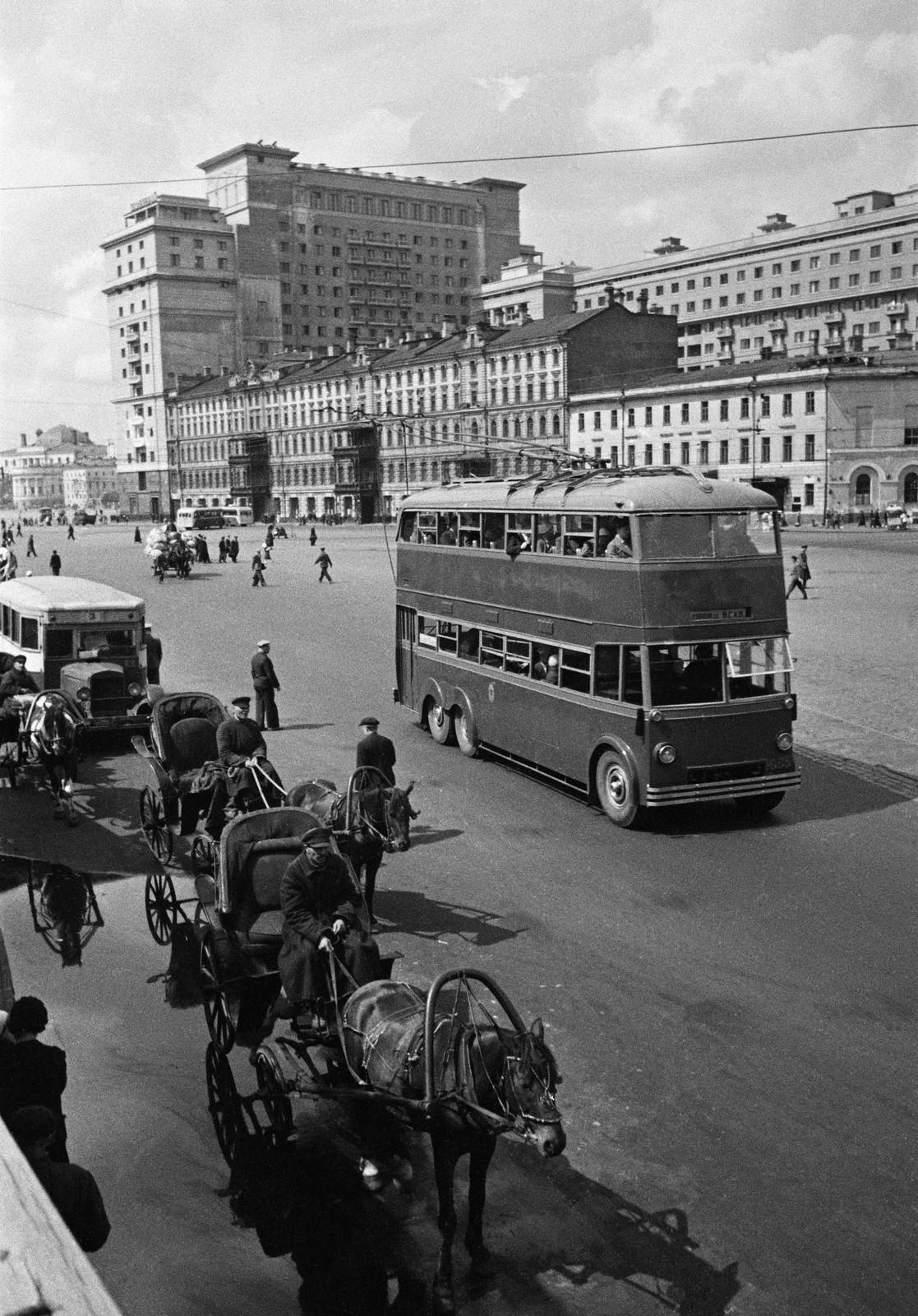 1939. Уличное движение