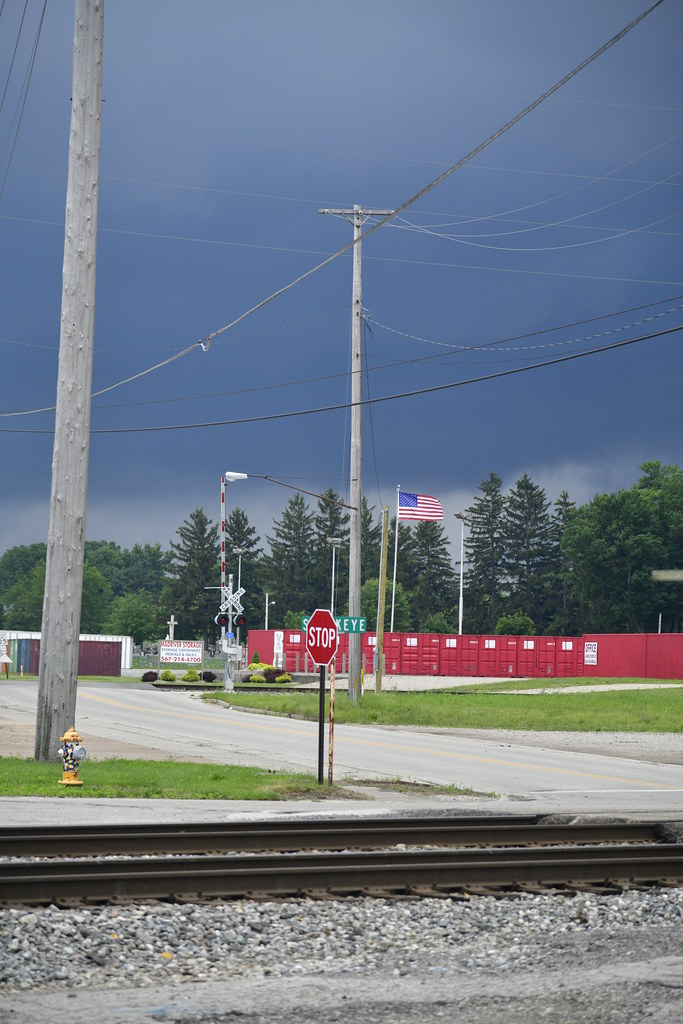 Flag in the Coming Storm