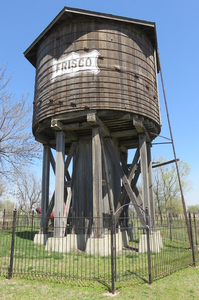 Old Saint Louis and San Francisco Railroad Water Tank (Beaumont, Kansas)